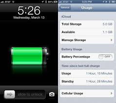 Get Battery Usage Information Right Your iPhone or iPad iOS