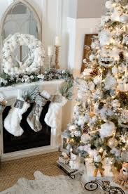 75 Flocked Christmas Tree by 10 Tips On How To Decorate A Christmas Tree Rustic Glam Farmhouse