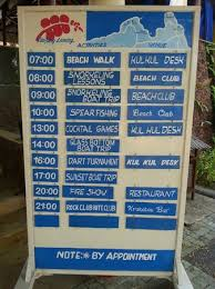 Tanjung Lesung Beach Club Activities List