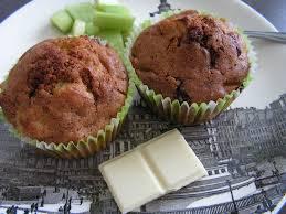 recette de cuisine tf1 les gourmandises de lydie muffins chocolat blanc rhubarbe