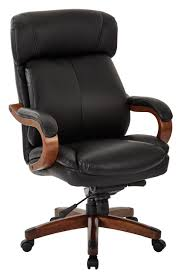OSP Office Black Bonded Leather Executive Chair With Wood Trim L ... Worksmart Bonded Leather Office Chair Black Parma High Back Executive Cheap Blackbrown Wipe Woodstock Fniture Richmond Faux Desk Chairs Hunters Big Reuse Nadia Chesterfield Brisbane Devlin Lounges Skyline Luxury Chair Amazoncom Ofm Essentials Series Ergonomic Slope West Elm Australia Management Eames Replica Interior John Lewis Partners Warner At Tc Montana Ch0240