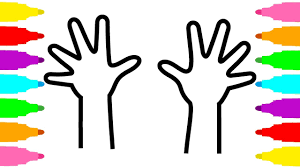 Hands Coloring Pages