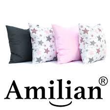 amilian 4er set kissenbezug kissenbezüge kissenhülle zierkissenbezug kopfkissenbezug für sofa schlafzimmer deko kissen dekorative dekokissen
