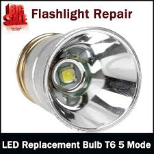 led replacement bulb cree xm l t6 5 mode for g90 g60 surefire
