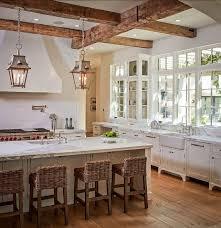 Rustic Kitchen Wall Decor Metal Base On Grey Carpet Floors Vintage Frosted Glass Pendant Lights Dark