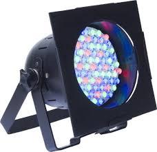 American DJ Lighting 4 38B LED PRO Black Par Can Stage Wash