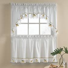 tuscan decor grapevine and grapes kitchen window curtains set new