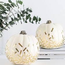 Dryer Vent Pumpkins by Simple Sharpie Decor No Carve Pumpkin Ideas Popsugar Smart