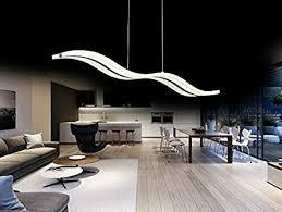 create for modern wave led pendant light fixture ceiling