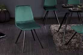 retro stuhl smaragdgrün aus samt riess ambiente de