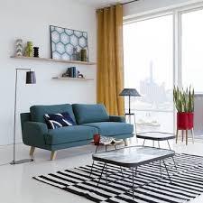 canap cosy petit canapé 2 places dans un salon cosy la redoute