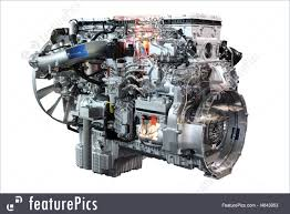 100 Diesel Truck Engines Picture Of Heavy Engine Isolated