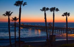 San Clemente Pier City Beach CA