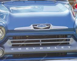 100 Truck Grills Classic Car Grills Blue 1958 Chevy Apache Grill Close Up