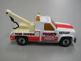 100 24 Hr Tow Truck Toy Matchbox Tow Truck GMC Wrecker Franks Getty HR Ing