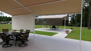 Retractable Patio Cover, Retractable Patio Roofing System ... Outdoor Marvelous Retractable Awning Patio Covers For Decks All About Gutters Deck Awnings Carports Rv Shed Shop Awnings Sun Deck A Co Roof Mount Canopy Diy Home Depot Ideas Lawrahetcom For Your And American Sucreens Decor Cozy With Shade Pergola Design Magnificent Build Pergola On Sloped Shield From The Elements A 12 X 10 Sunsetter Motorized Ers Shading San Jose