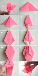 Origami Flowers Tutorial Ideas Only Pap On Magic Cube Ros