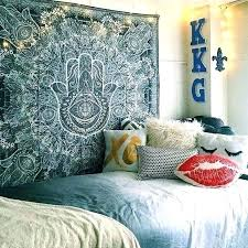 Tapestry Decorating Ideas Bedroom Wall With Tapestries