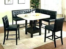 Booth Style Kitchen Tables Bar Table And Chairs Counter Height Dining Set Seats For Sale