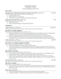 Sample Mba Resumes Resume Template For Application Us