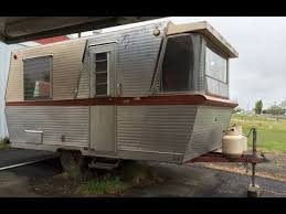 1960 Holiday House 17 Vintage Travel Trailer