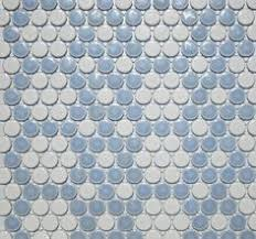 ivory unglazed porcelain lyric wafer tile at