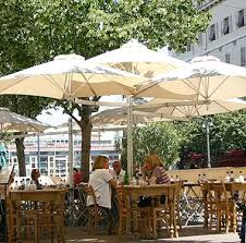 Patio Umbrellas For Cafe And Restaurant Use