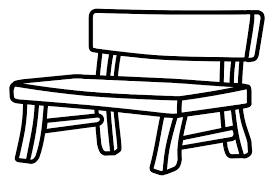 park bench Clipart