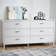 Hemnes 6 Drawer Dresser White by Zipcode Design Lorraine 6 Drawer Double Dresser Reviews Wayfair