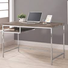 Grey Metal puter Desk Steal A Sofa Furniture Outlet Los