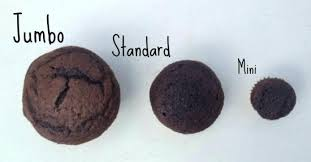 Cupcake Pan Sizes Jumbo Standard And Mini Cupcakes Measurements