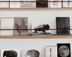 ShelfDisplay Shelves Awesome Shop Wall Shelving These Floating Metal And Wood Are So