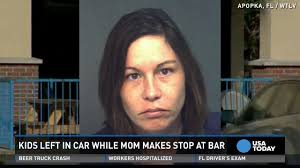 100 Hot Female Truck Drivers Police Mom Leaves Kids In Hot Car To Drink At A Bar