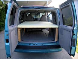 Van Conversion Ideas Bed Camper Camping Trips Beds S Best Cargo U Design Decorating