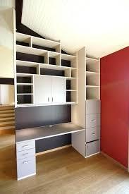 bibliothèque avec bureau intégré bibliotheque avec bureau integre bureau bibliotheque design