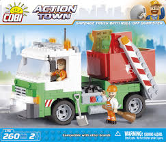 Garbage Truck With Roll-Off Dumpster - COBI Blocks From EU Lego Technic Mack Anthem The Awesomer Buy Juniors Garbage Truck Online At Low Prices In India Lego City 60118 Duplo Help The Big To Haul All Of Recycling Amazoncom City Toys Games Large Action Series Brands May 2016 Toysworld Science Bears Creations Police Trash Truck Pricey73s Most Teresting Flickr Photos Picssr Review 4432 Youtube Fast Lane Dump And Vehicles R Us Australia Join