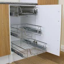 5 x schrankkorb korbauszug küchenkorb regalkorb aufbewahrung