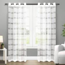Sheer Curtain Panels 96 Inches by Best 25 Sheer Curtains Ideas On Pinterest Hanging Curtains