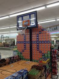 Best March Madness Grocery Store Display