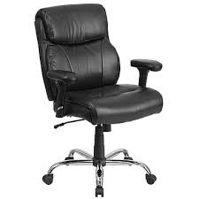 Serta Memory Foam Managers Chair by Big U0026 Tall Office Chairs Oversized Leather Chairs Staples