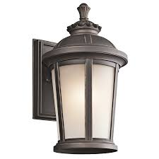 ralston collection 1 light outdoor wall l in rubbed bronze
