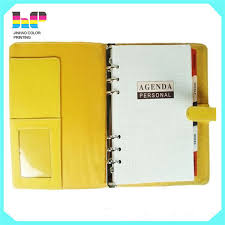 Customized Logo Print Notepad Cheap Spiral School Notebook With Transparency Plastic Divided Paper