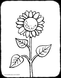 Tournesol Kiddicoloriage