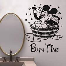 Mickey And Minnie Mouse Bathroom Ideas by Mickey Mouse Wall Decals Bring The Magic Of Disney Into Your