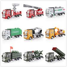 1:48 Construction Truck Excavator Digger Demolition Vehicle Concrete ...