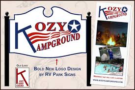 RV Park Signs And Marketing Materials