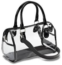 designer inspired clear satchel handbag clear handbags u0026 more
