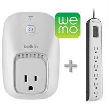 WeMo Smart Phone Switch Surge Protector