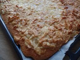 mandelkuchen rezept für 1 backblech