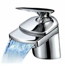 details zu designerstück luxus armatur wasserhahn wasserfall bad waschbecken design